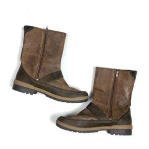Merrell Shoes - Merrell Women's US 9.5 EU 40.5 Emery Buckle Boots